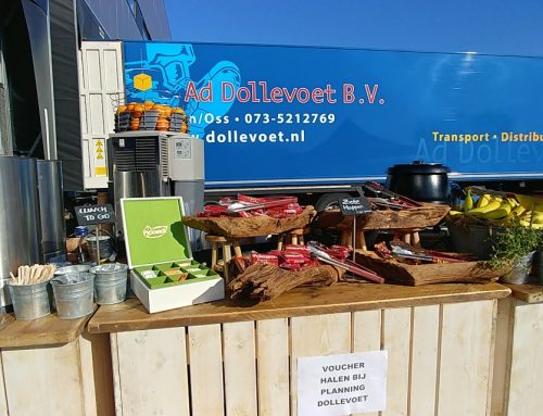 Take Away lunch tijdens corona bij Dollevoet
