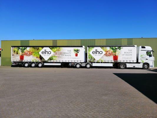 Dollevoet - Elho in nieuwe vrachtwagens