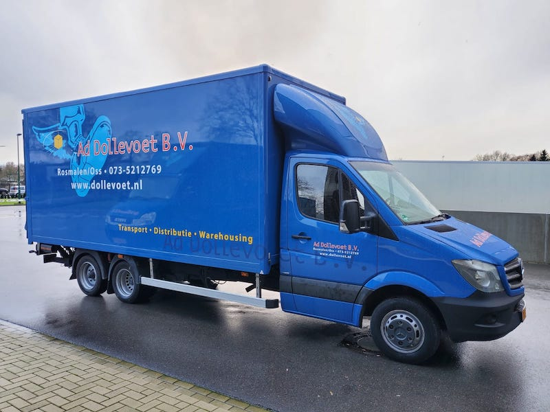 Dollevoet Transport Oss BE Combi vrachtwagen